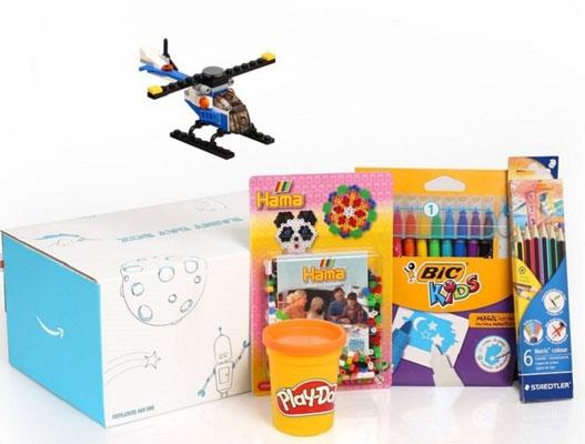 Amazon Toy Sample Box