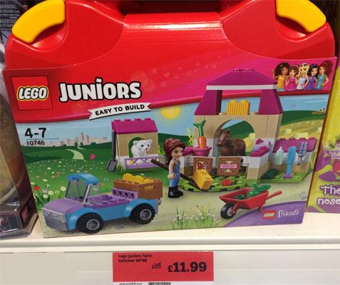Lego Juniors Suitcase