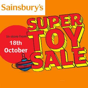 Sainsbury's Toy Sale 2017