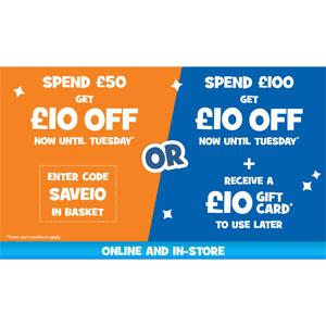ToysRus Spend 50 Save 10