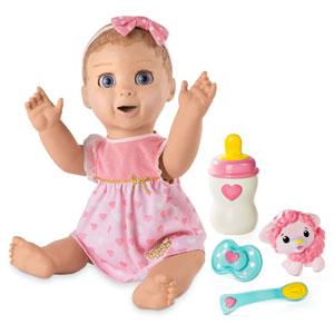 Luvabella Doll Blonde Hair