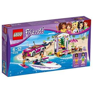 LEGO Friends 41316 Andreas Speedboat Transporter
